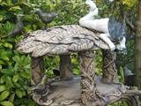 Bird Table by Tati Dennehy, Sculpture, Fired Clay