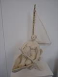The Good Ship by Tati Dennehy, Sculpture, Ceramic and Fabric