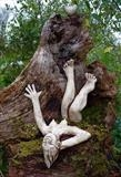 Woodland Marilyn by Tati Dennehy, Sculpture, Ceramic and Wood
